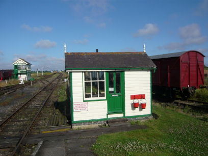 Berney Arms & Hadiscoe Junction signal Box