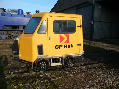 Woodings railcar, type CBL, ex CPR